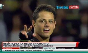 Beşiktaş'ta ilk hedef Chicharito
