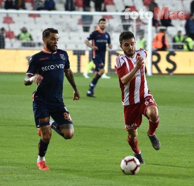 Sivasspor - Başakşehir maçından kareler...