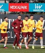 Galatasaray Yeni Malatyaspor maçı çalışmalarını sürdürüyor!