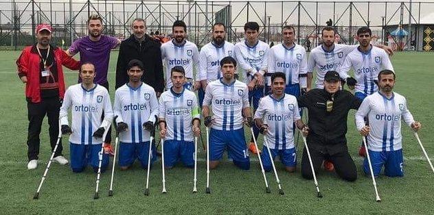 Ortotek Gaziler Ampute Spor'un rakipleri belli oldu