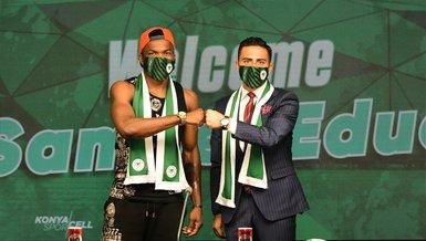 Konyaspor, Nijeryalı forvet Samuel Eduok'u transfer etti