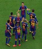 Barcelona ikinci yarı açıldı