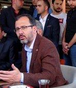 Bakan Kasapoğlu gönüllü gençlerle buluştu