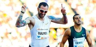 Ramil Guliyev 200 metrede 1. oldu