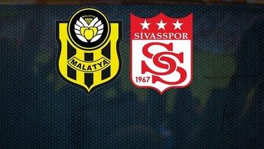 Yeni Malatyaspor Sivasspor maçı CANLI