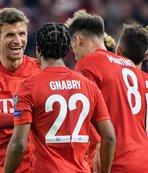 Bayern Münih Kızılyıldız'a acımadı!