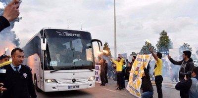 Fenerbahçe kafilesi başkente geldi