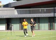 Galatasaray'ın yeni transferi Onyekuru ilk idmanına çıktı