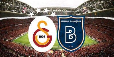 Galatasaray-Başakşehir maçında oynayamayacak isimler