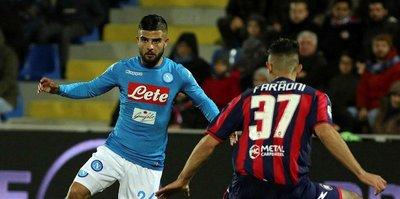 İtalya Serie A'da ilk yarının lideri Napoli