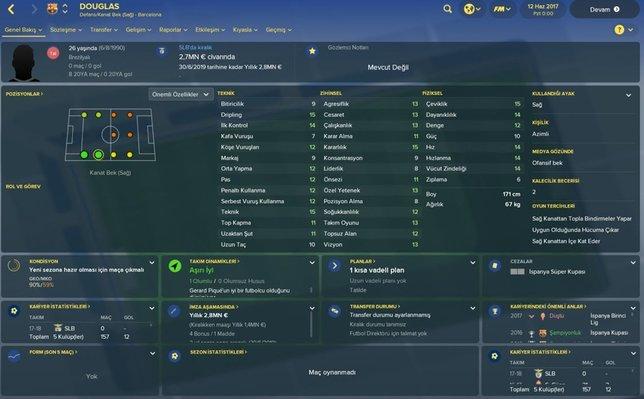Süper Ligin yeni transferlerinin FM profilleri!