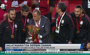 Galatasaray'da değişim zamanı