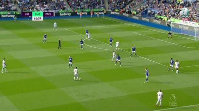 GOL   Leicester City 0-1 Manchester City
