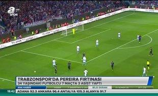 Trabzonspor'dan Pereira fırtınası