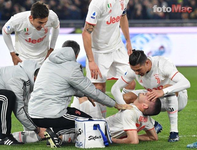 Sarri'den Merih Demiral açıklaması! Ronaldo'dan da paylaşım geldi