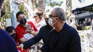 Son dakika spor haberleri: Galatasaray Antalya'da coşkuyla karşılandı