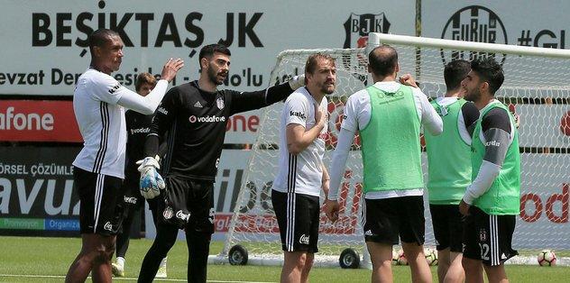 Beşiktaş, Osmanlıspor maçı hazırlıklarını sürdürüyor