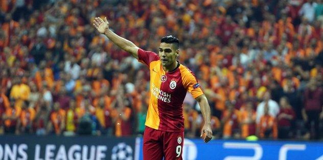 Falcao'dan Galatasaray taraftarına mesaj!