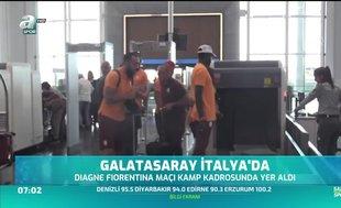 Galatasaray İtalya'da