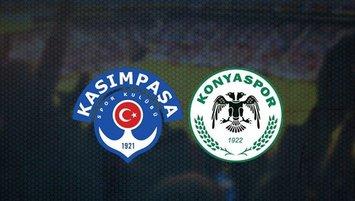 Kasımpaşa - Konyaspor maçı ne zaman, saat kaçta, hangi kanalda?