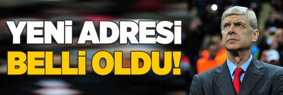 Arsene Wenger'in yeni adresi belli oldu!