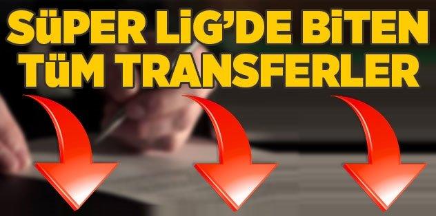 Transferde perde resmen kapandı! İşte Süper Lig'in transfer raporu...