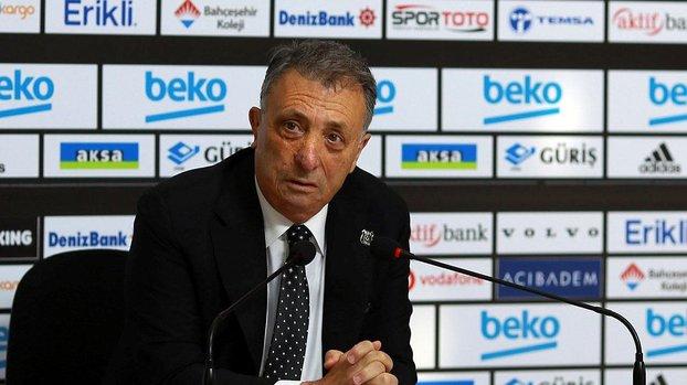 Son dakika spor haberleri: Beşiktaş Başkanı Ahmet Nur Çebi'den Galatasaray'a transfer misillemesi! İstediğinize teklif yapın