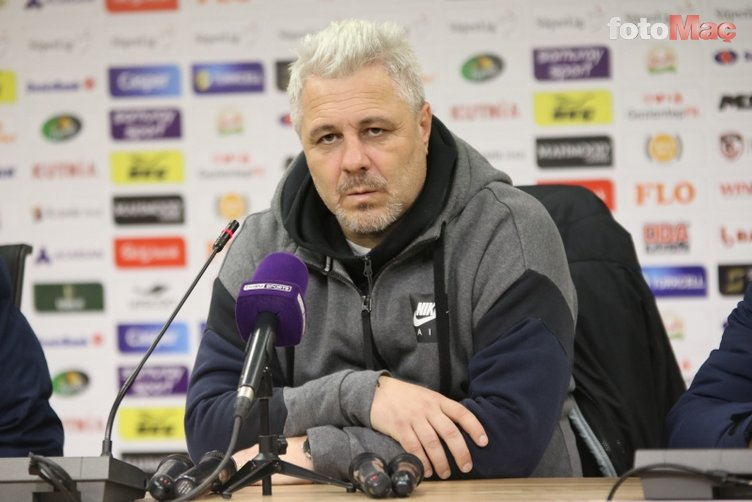 """Flash words from Gaziantep FK Coach Marius Sumudica! """"If we play with Galatasaray today ..."""""""