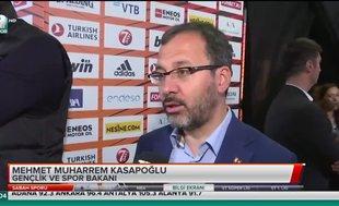 """Mehmet Kasapoğlu: """"İki takıma da teşekkür ediyorum"""""""