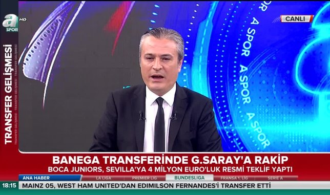 Ever Banega transferinde Galatasaray'a rakip