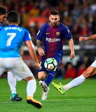 Barcelona zorlanmadı