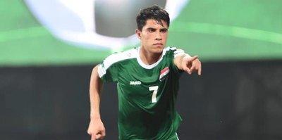 Malatyaspor'a Iraklı golcü