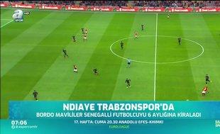 Badou Ndiaye Trabzonspor'da