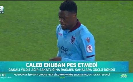 Caleb Ekuban pes etmedi