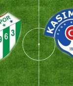 Bursaspor ile Kasımpaşa 19. randevuda