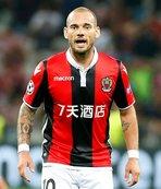 Nice'de hayal kırıklığı Sneijder