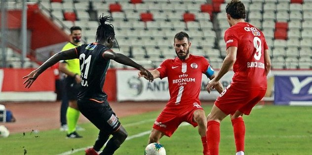 Akdeniz derbisi Antalya'nın - Futbol -