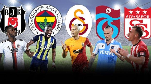 Beşiktaş, Fenerbahçe, Galatasaray, Sivasspor ve Trabzonspor ülke puanına ne kadar katkı sağladı