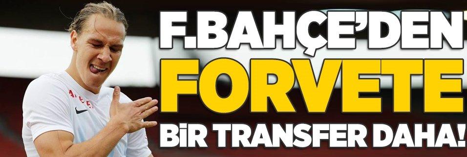 Fenerbahçe'den forvete bir transfer daha!