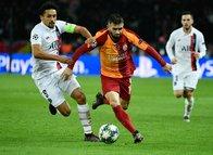 PSG - Galatasaray maçından kareler...