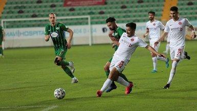 Akhisarspor Ümraniyespor 1-1 (MAÇ SONUCU - ÖZET)