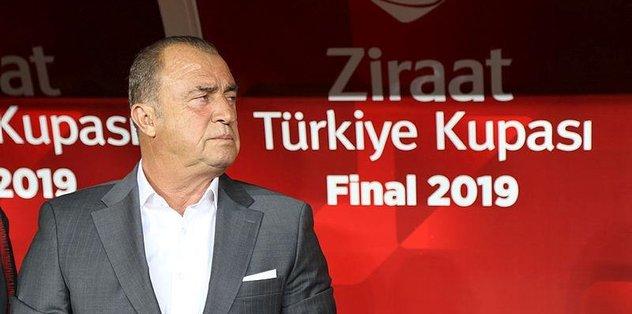 Galatasaray'da Fatih Terim: Kazanın bitsin