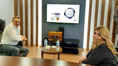Cezalı başkanlar Berna Gözbaşı ve Hasan Kartal maçı beraber izleyecek