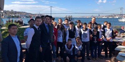 Beşiktaş, Kilisli çocukları ağırladı