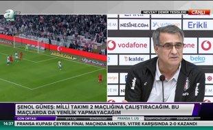 """Şenol Güneş: """"Benden daha iyi Beşiktaşlı var mı?"""""""