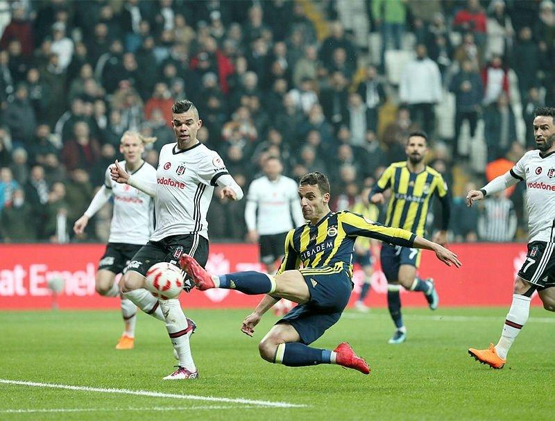 Ziraat Türkiye Kupası'nda Fenerbahçe-Beşiktaş maçı 11'leri