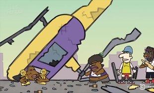 Herkes bunu konuşuyor! O çizgi filmde Kobe Bryant'ın helikopter kazasında öleceği verilmiş
