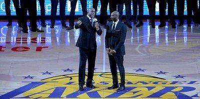 Magic Johnson'dan Kobe'e övgü