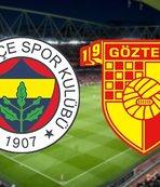 Fenerbahçe - Göztepe | CANLI