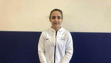Milli sporcu Esma Akkaya dünya şampiyonu olmayı hedefliyor